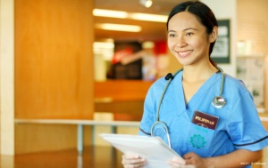 Kakaiba ang atensyon mula sa pinoy nurses
