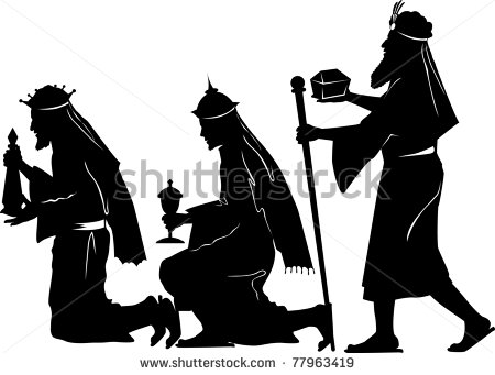 stock-vector-vector-silhouette-graphic-illustration-depicting-the-three-wise-men-offering-gifts-77963419