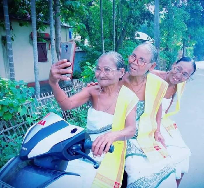 matanda selfie